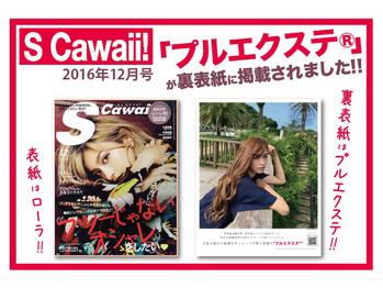 S Cawaii 2016,12月号掲載♪